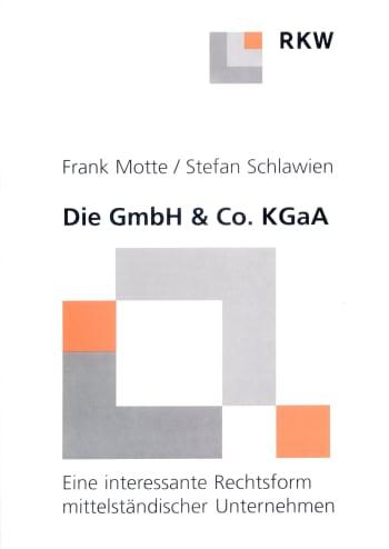 Cover: Die GmbH & Co. KgaA