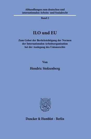 Cover: ILO und EU