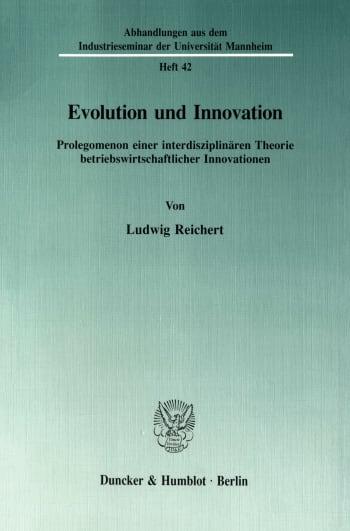 Cover: Evolution und Innovation