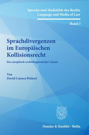 Cover: Sprache und Medialität des Rechts / Language and Media of Law (SMR)