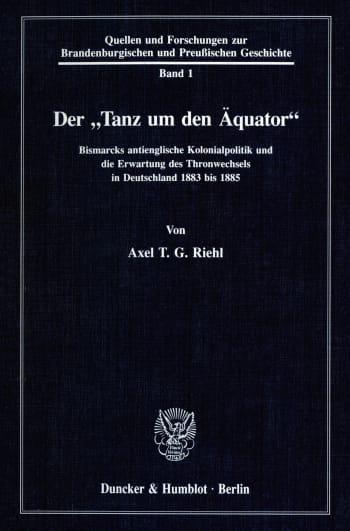 Cover: Der »Tanz um den Äquator«