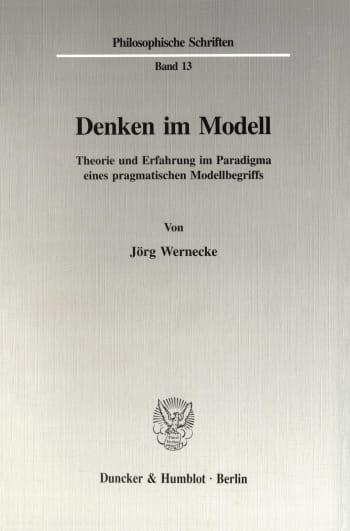 Cover: Denken im Modell