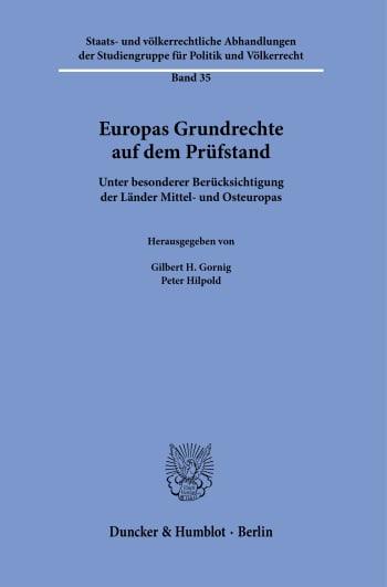 Cover: Europas Grundrechte auf dem Prüfstand