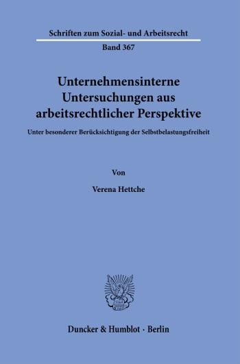 Cover: Schriften zum Sozial- und Arbeitsrecht (SAR)