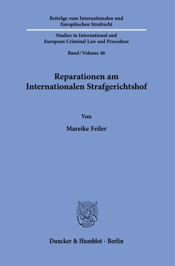 Cover: Reparationen am Internationalen Strafgerichtshof
