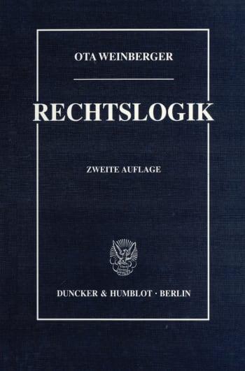 Cover: Rechtslogik