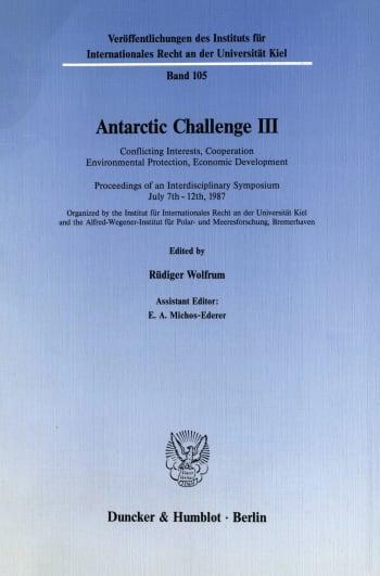 Cover: Antarctic Challenge III