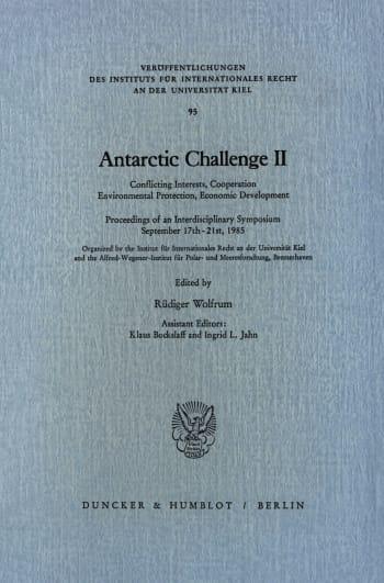 Cover: Antarctic Challenge II