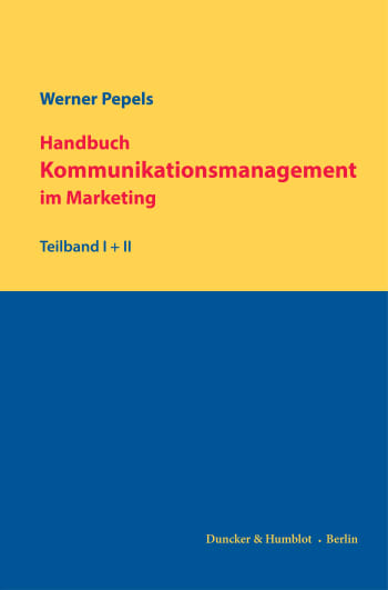 Cover: Handbuch Kommunikationsmanagement im Marketing
