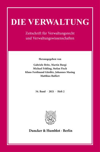Cover: Die Verwaltung (VERW)