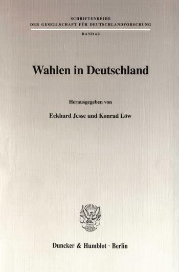 Cover: Wahlen in Deutschland