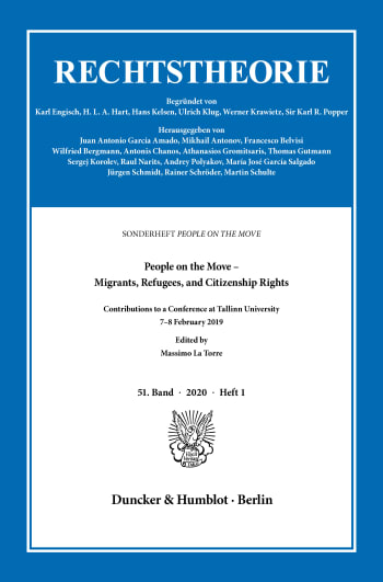 Cover: People on the Move – Migrants, Refugees, and Citizenship Rights