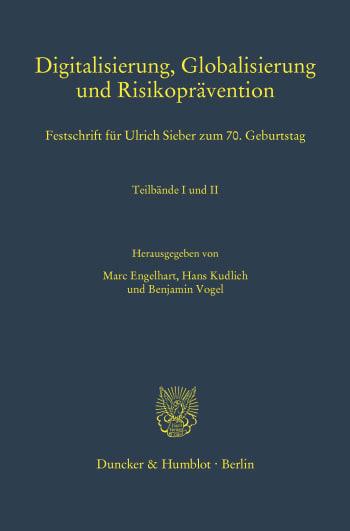 Cover: Digitalisierung, Globalisierung und Risikoprävention
