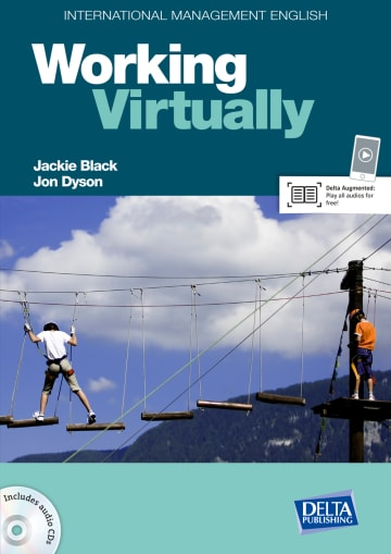 Cover International Management English Series: Working Virtually B2-C1 978-3-12-501334-6