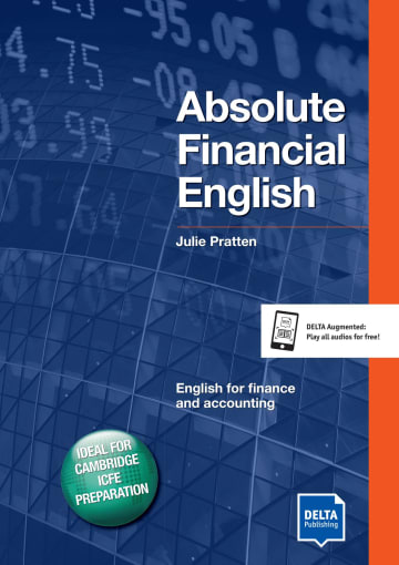 Cover Delta Business English: Absolute Financial English B2-C1 978-3-12-501328-5
