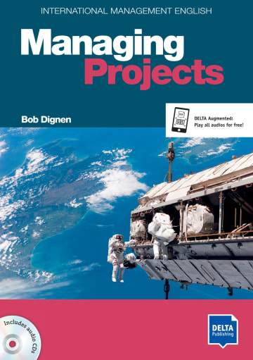 Cover International Management English Series: Managing Projects B2-C1 978-3-12-501331-5