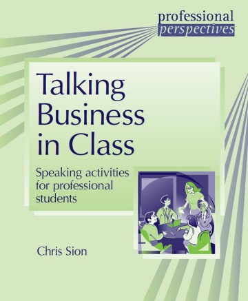 Cover Talking Business in Class 978-3-12-501607-1