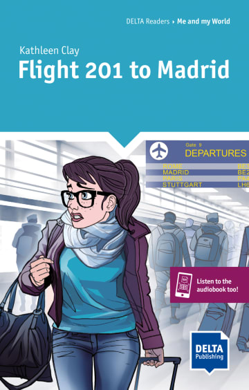 Cover Flight 201 to Madrid 978-3-12-501121-2
