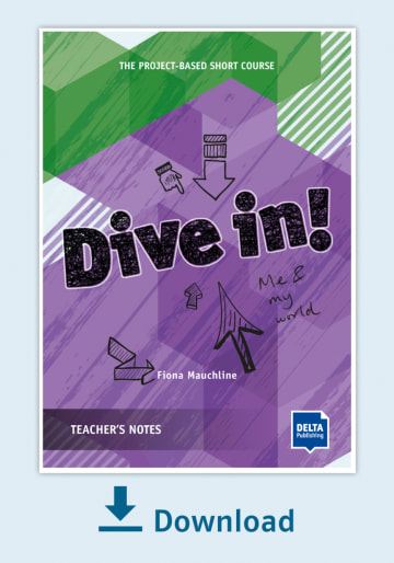 Cover Dive in! Teachers Notes - Me and my world NP00850130395