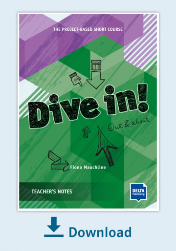 Cover Dive in! Teachers Notes - Out and about NP00850130495