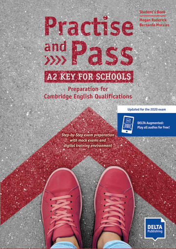 Cover Practise and Pass A2 Key for Schools (Revised 2020 Exam) 978-3-12-501702-3