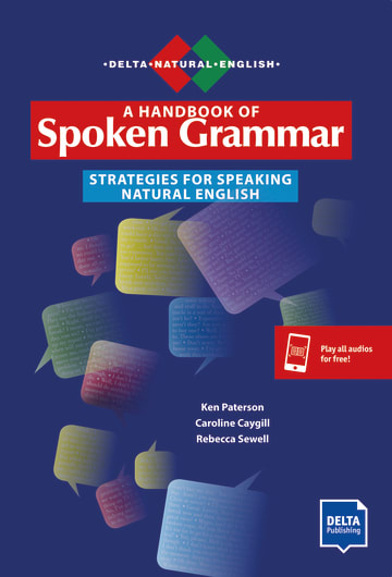 Cover A Handbook of Spoken Grammar 978-3-12-501685-9