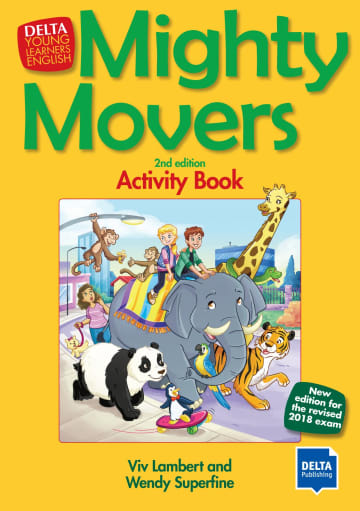 Cover Mighty Movers 2nd edition 978-3-12-501427-5