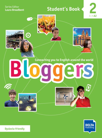 Cover Bloggers 2 A1 - A2 978-3-12-501204-2