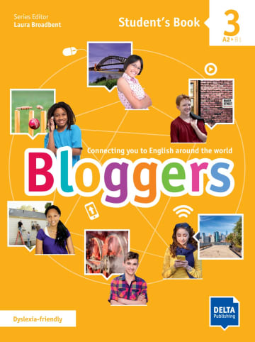 Cover Bloggers 3 A2 - B1 978-3-12-501206-6