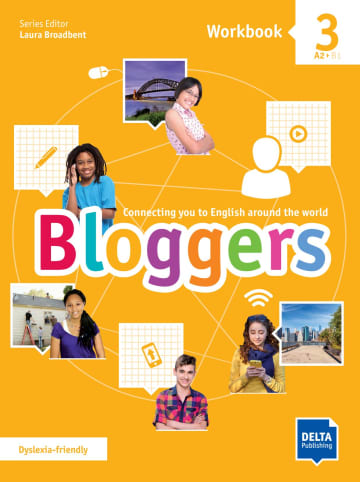 Cover Bloggers 3 A2 - B1 978-3-12-501207-3