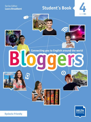 Cover Bloggers 4 A2 - B1 978-3-12-501208-0