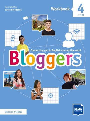 Cover Bloggers 4 A2 - B1 978-3-12-501209-7