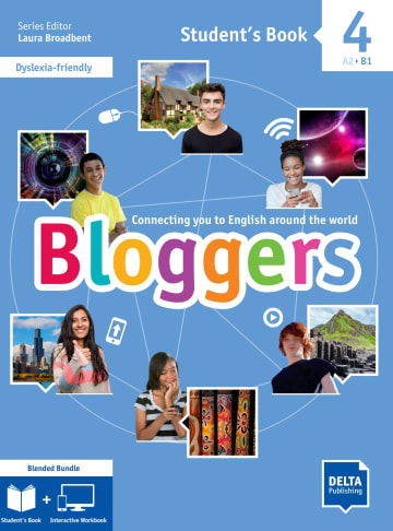 Cover Bloggers 4 A2-B1 Blended Bundle 978-3-12-501225-7