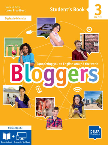 Cover Bloggers 3 A2-B1 Blended Bundle 978-3-12-501224-0