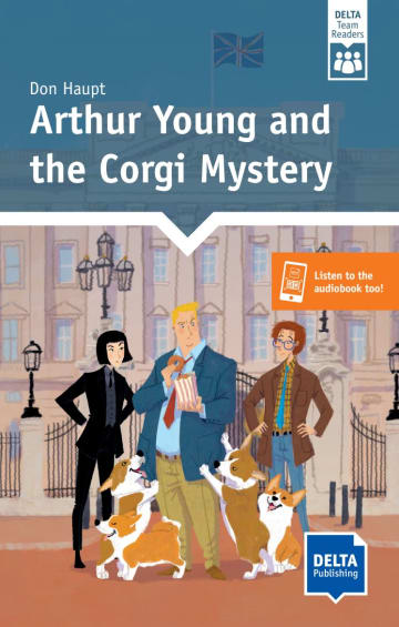Cover Arthur Young and the Corgi Mystery 978-3-12-530911-1