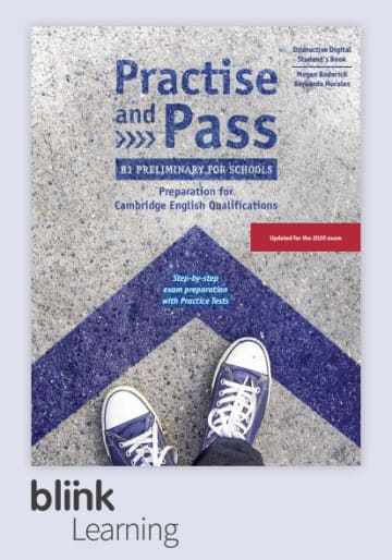 Cover Practise and Pass B1 Preliminary for Schools - Digital Edition NP00850170391