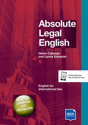 Cover Delta Business English: Absolute Legal English B2-C1 978-3-12-501329-2