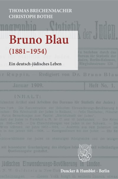 Cover Bruno Blau