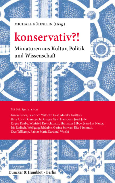 Cover konservativ?!