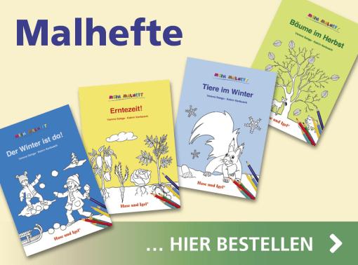 Hase und Igel Verlag - Malhefte