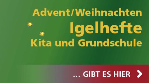 Hase und Igel Verlag - Igelhefte für Advent und Weihnachten