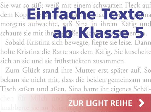 Hase und Igel Verlag - Einfache Texte ab Klasse 5