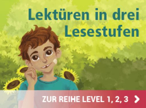 Hase und Igel Verlag - Lektüren in drei Lesestufen - Level 1, 2, 3