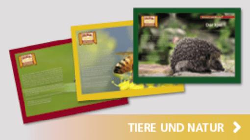 Kamishibai Tiere und Natur | Hase und Igel Verlag