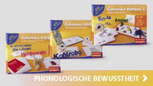 Galonska Hörboxen 1-3 | Hase und Igel Verlag