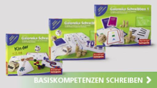 Galonska Schreibboxen 1-3 | Hase und Igel Verlag