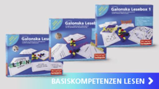 Galonska Leseboxen 1-3 | Hase und Igel Verlag