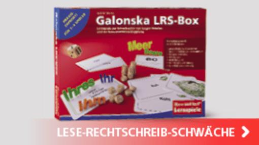 Galonska LRS-Box | Hase und Igel Verlag