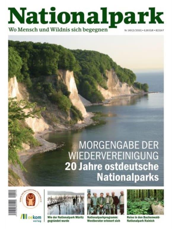 Cover: 20 Jahre ostdeutsche Nationalparke