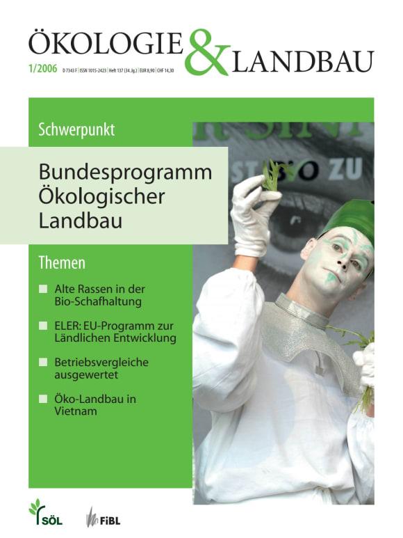 Cover: Bundesprogramm Ökologischer Landbau